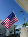 Boat Rod Holder Flag Flyer with US Flag