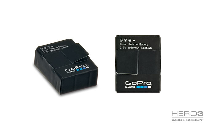 gopro rechargeable battery for hero 3. Black Bedroom Furniture Sets. Home Design Ideas
