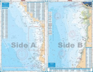 Waterproof charts offshore florida