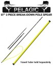 "Sea Stinger Pelagic 97"" Polespear"