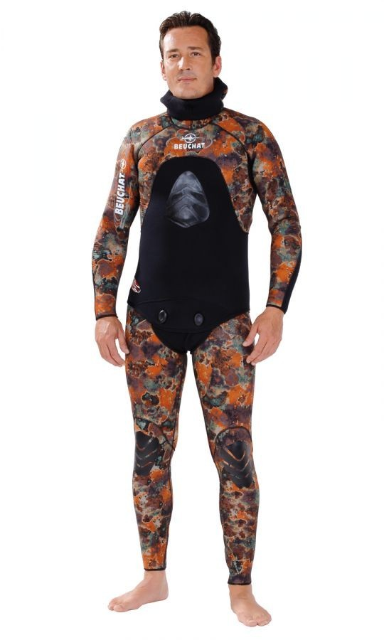 Beuchat Mundial Camo Brown Equipe 5mm Wetsuit