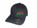 Inletville Flex Fit Rasta Hog Fish Hat