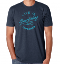 Speared Life is Spearfishing Navy T-Shirt