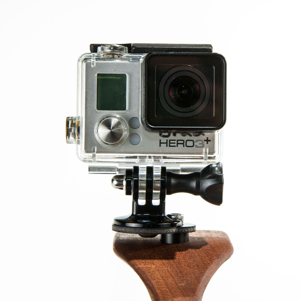 Headhunter gopro mount for guerrilla sling 2 0 for Best gopro for fishing
