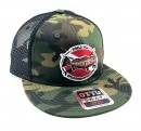 Spearfishing World Snapback Hat Camo